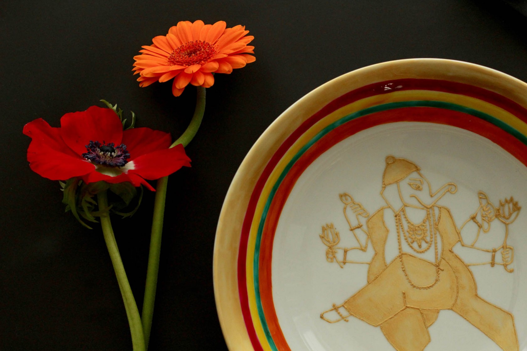 Ganesh Serving Bowl
