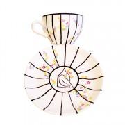 Haiku cup and saucer – 1