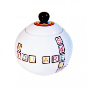 Scrabble Sugar Bowl -1