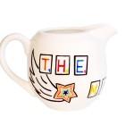 Scrabble milk jug – right