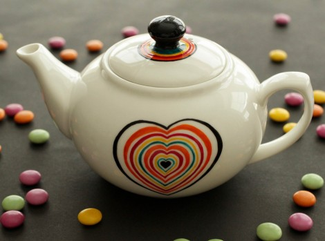 scrabble love small teapot 1